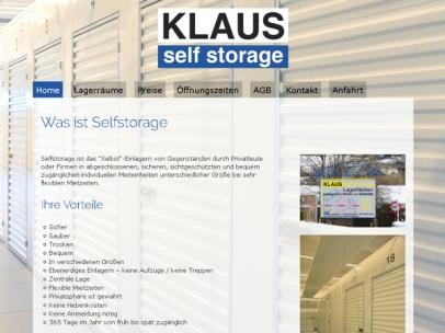 Klaus Selfstorage - Lagerboxen mieten in Feldkirchen