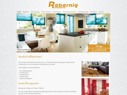 Rebernig Raumgestaltung in Feldkirchen