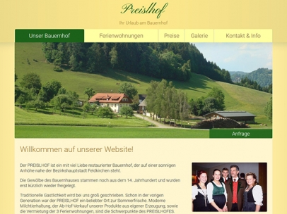 Bauernhof Preislhof in Feldkirchen