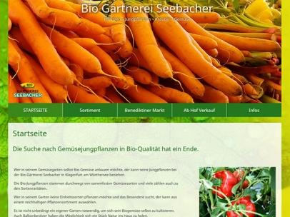 Bio Gärtnerei Seebacher