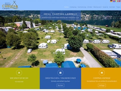 Ideal Camping Lampele am Ossiacher See