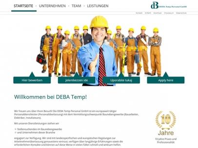DEBA Temp Personal