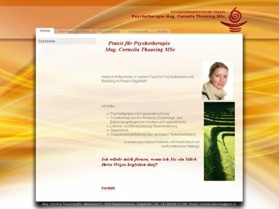 Psychotherapeutische Praxis - Mag. Cornelia Thausing