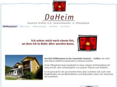 DaHeim in Deutsch-Griffen