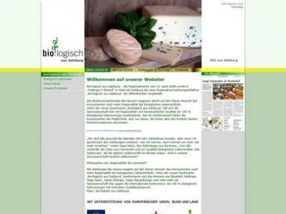 Biologisch aus Salzburg