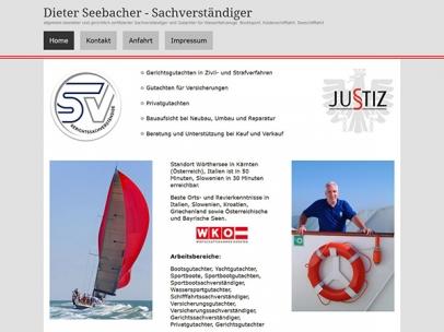 Dieter Seebacher - Sachverständiger