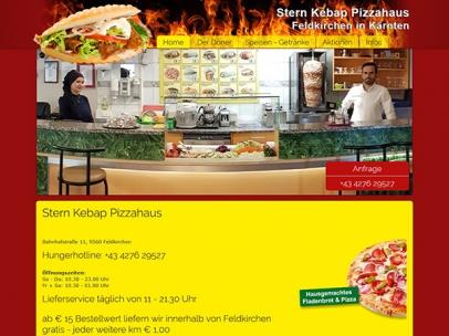 Sternkebap und Pizzahaus