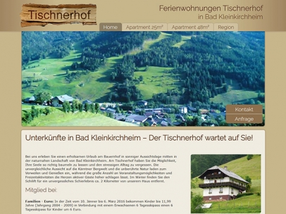 Bauernhof Tischnerhof in Bad Kleinkirchheim