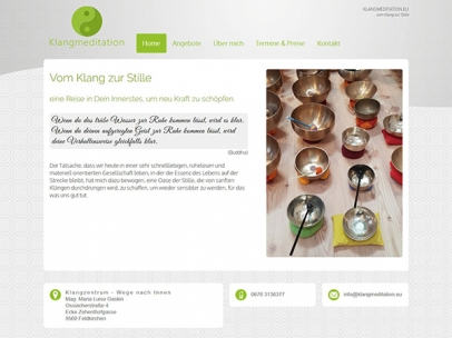 Klangmeditation - Mag. Maria Luise Gaskin