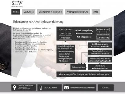 Arbeitssicherheit Kärnten - safe healthy working