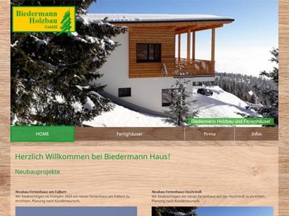 Biedermann Holzbau