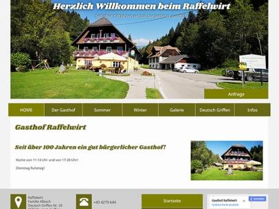 Gasthof Raffelwirt in Deutsch-Griffen