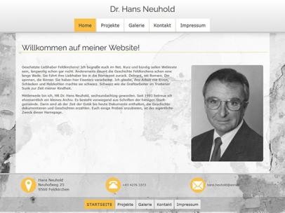 Dr. Hans Neuhold