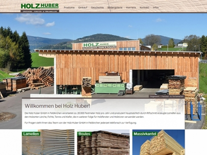 Sägewerk Holz Huber in Feldkirchen