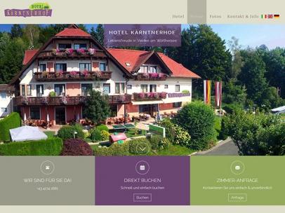 Hotel Kärntnerhof in Velden am Wörthersee